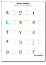 missing letter worksheets activity sheets for kids letter
