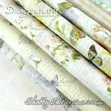 shabby chic wrapping paper paper pack waterproof decorative paper pack shabby chic 24