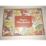 give thanks disposable thanksgiving paper placemats