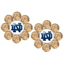 flirties earrings 18 best notre dame images on notre dame big and