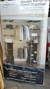 mainstays double hanging closet organizer box in covina letgo