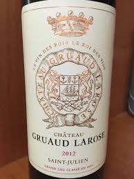 30 years of château gruaud 2012 château gruaud larose bordeaux médoc st julien