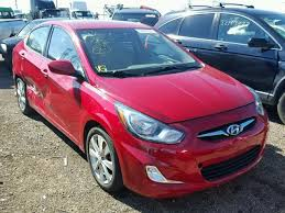 2012 hyundai accent gls for sale 2012 hyundai accent gls for sale il chicago salvage