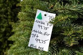christmas tree prices up amid shortage this holiday season
