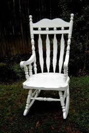 White Wooden Rocking Chair For Nursery Wooden Rocking Chair For Nursery Foter