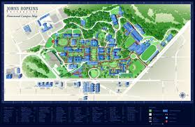 University Of Montana Campus Map by Johns Hopkins University Roll Barresi U0026 Associates Wayfinding