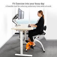 Stand Up Desk Exercises Loctek Wellness Bike Flexispot
