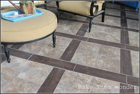 Tile That Looks Like Wood by Patio Design With Stamped Concrete Tile That Looks Like Wood
