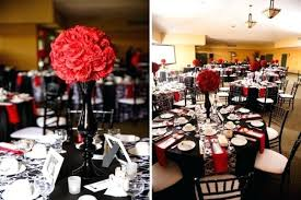 red and white table decorations for a wedding red and white decorations promotop info