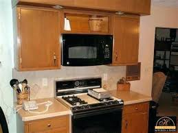 installing under cabinet microwave mount a microwave under a cabinet gorous under cabinet mounted