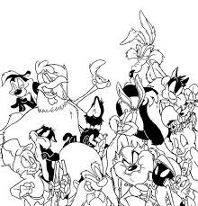 looney tunes colouring soldier coloring pages of looney tunes