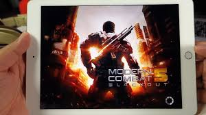 ipad air 2 modern combat 5 gameplay youtube