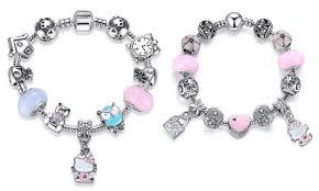 pandora bracelet styles images Pandora inspired 925 silver lovely hello kitty charm bracelet 2 jpg