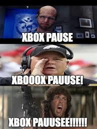 Xbox Live Meme - xbox pause imgflip