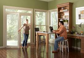 Patio Doors With Windows French Hinged Patio Door Simonton Windows U0026 Doors