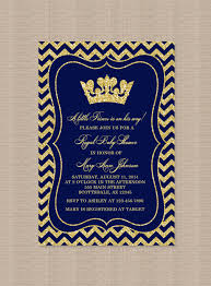 prince baby shower invitations prince baby shower invitation boy prince crown royal