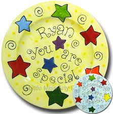 plate you are special personalized birthday and family plates miss arty