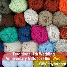 7th anniversary gifts for him traditional 7th wedding anniversary gifts for him wool gift