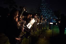 Singing Christmas Tree Lights 81st Belhaven University Singing Christmas Tree