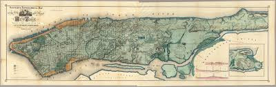 map of new york and manhattan viele map of manhattan