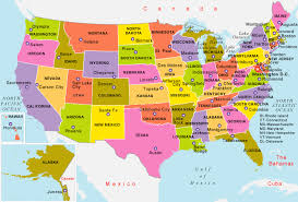 united states major cities map us map state capitals and major cities justinhubbardme usa map