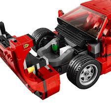 lego porsche life size amazon com lego creator expert ferrari f40 10248 construction set