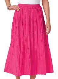 cotton skirt cotton crinkle skirt carolwrightgifts