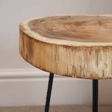 tree trunk bedside table furniture cool side table leather coffee storage trunk dressing