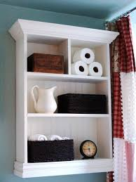bathroom shelving ideas 12 clever bathroom storage ideas hgtv