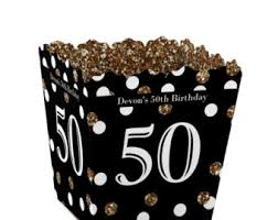 50th birthday favors 50th birthday box etsy
