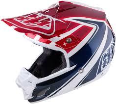red motocross helmet troy lee designs se3 neptune red white blue motocross helmets troy