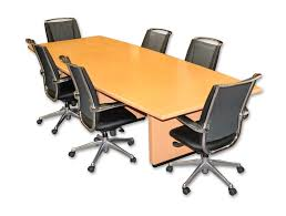 Executive Meeting Table Maple Office Desks Executive Conference Room Accessories