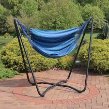 Swing Chair With Stand Sunnydaze Hanging Hammock Chair Swing With Space Saving Stand