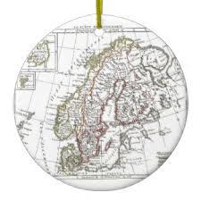 vintage europe map ornaments keepsake ornaments zazzle