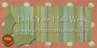 Cheap Christmas Centerpiece - deck your halls easy christmas centerpiece cheap crafty mama