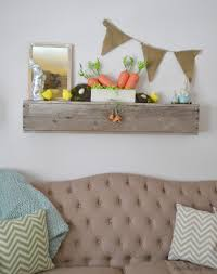 Easter Decorations On Mantel by Easter Mantel With Diy Burlap Banner Make It Challenge My