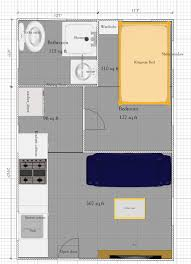 One Floor Tiny House 815 Sq Ft Small House Cabin Plan No Loft Tiny Quality Homes
