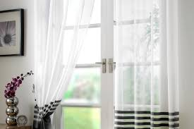 Amazon White Curtains Curtains 84 Inch Black Ivory Blackout Curtain Amazing White And