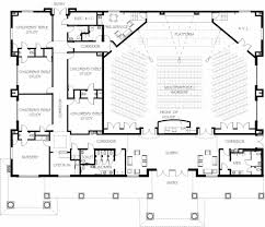 extremely creative free small church floor plans 3 church building
