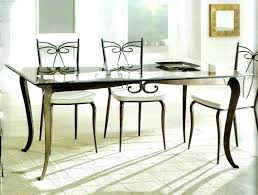 glass top dining room table glass top table and chairs lesdonheures com