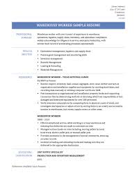Job Skills In Resume by Warehouse Skills On Resume Free Resume Example And Writing Download