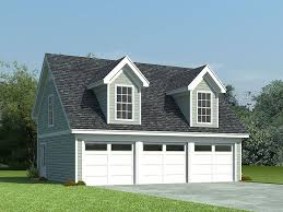 Garage With Loft 3 Car Garage Loft Plan 006g 0087 With Shed Dormers A Steep
