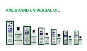 Minyak Axe leung fook axe brand universal