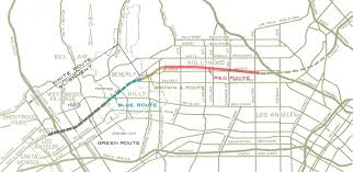 Brown Line Map Why Isn U0027t There A Freeway To Beverly Hills Kcet