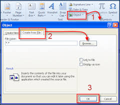 How To Convert Pdf File Into Excel Spreadsheet Embed Excel In Word Embed An Excel File Into A Microsoft Word