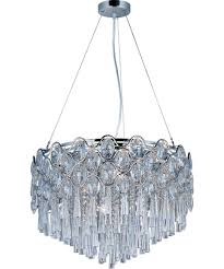 Maxim Chandelier Maxim Lighting 39925 22 Inch Wide 20 Light Large Pendant