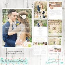 wedding magazine template instant wedding magazine template 8 pages for wedding