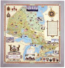 Map Of Ontario The Province Of Ontario Canada