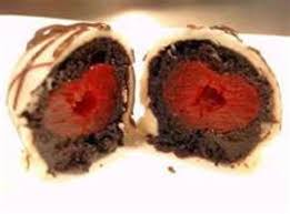 chocolate covered cherry cake truffles recipe just a pinch
