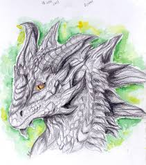 dragon pencil drawing archives christabelle art and things